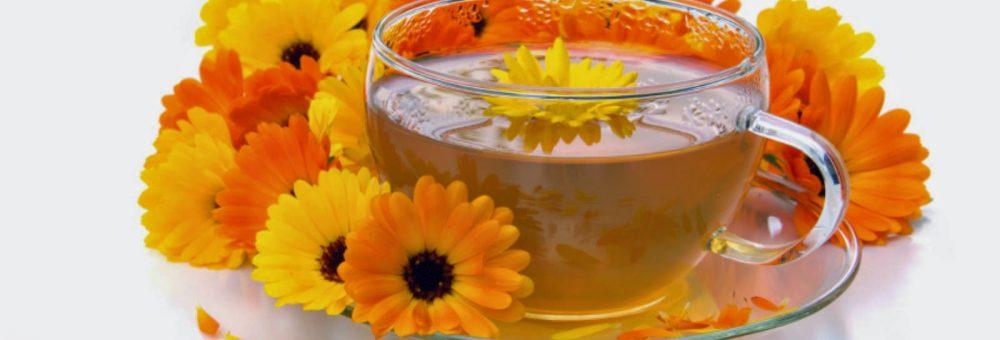 Beneficiile ceaiului de gălbenele